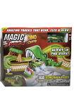 Magic Tracks Dino Chomp Glow in The Dark Race Track 9ft Speedway