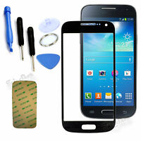 Black Replacement Screen Glass Lens Kit For Samsung Galaxy S4 Mini i9595 i9190