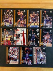 1996/97 Upper Deck Utah Jazz Team Set 11 Cards