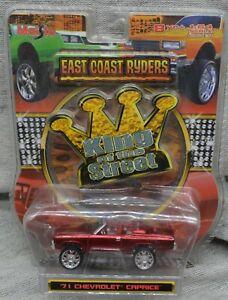 MAISTO 1/64 East Coast Ryders 71 Chevrolet Caprice King of Street Donk Box NOS
