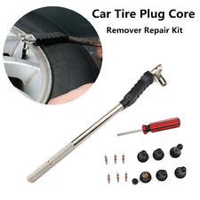 Valve Stem Installer Tool Set Puller Car Tire Plug Core Remover With 6Pcs TR-413