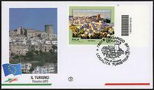 2015 - ITALIA - TURISMO: TRICARICO - FDC FILAGRANO CODICE A BARRE 1676
