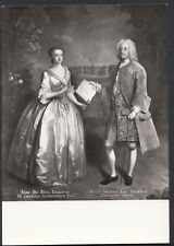 Artist Postcard - Philip Mercier - Henry 7th Viscount Irwin & His Wife  B2542