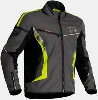 Lindstrands Zero Jacket Lava Olive Waterproof Motorcycle Jacket New