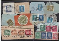 Germany early Stamps on piece Ref 14230