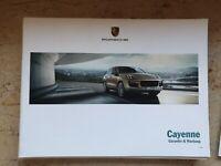 Porsche Cayenne Wartungsheft Scheckheft Garantiewartung Serviceheft Checkheft
