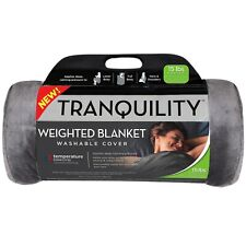 Tranquility Temperature Balancing Weighted Blanket With Washable Cover 15 Lbs