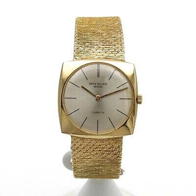 Patek Philippe 18k Yellow Gold Ref 3523 Gents Wristwatch 28 Mm Manual #w5926-2