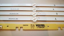 """Tira De Luz De Fondo LED Set 17DLB43VLXR1 LB43007 DESDE JMB 50"""" 50/2041-GB-5B - FHKUP-UK"""