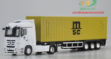 1:50 Benz Truck MSC 40GP CONTAINER ALLOY MODEL