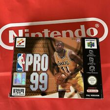 NBA Pro 99 NEU für Nintendo 64 N64 NEW CIB TOP PAL
