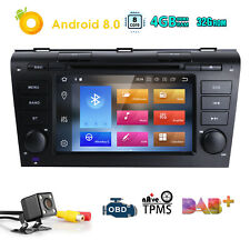 Android 8.0 Car DVD NAVI GPS Radio Stereo MAZDA 3 2004 2005 2006 2007 2008 2009