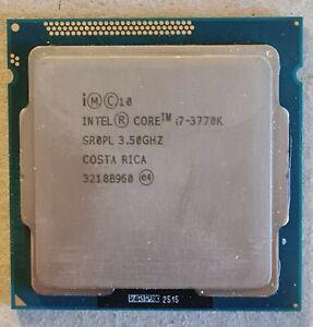 Intel Core i7-3770K 3.50GHz Quad Core Socket LGA 1155 CPU Processor