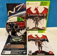 Dragon Age II (Microsoft Xbox 360, 2011) with Manual - Tested & Working