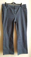 Ladies' Indigo M&S Bootcut Jeans Size UK 20M