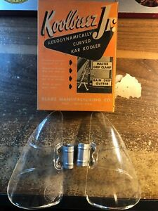 Pair of nos Window Mounting Parts Vintage Auto Parts
