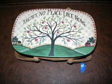 New ListingOz ~ There's No Place Like Home ~ Basket / Purse