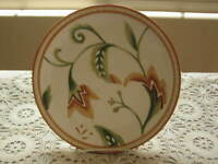 Fitz & Floyd Grand Haven Salad Plate 8 1/2 Gold Green Discontinued Pattern