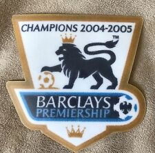 Pair(2) 2004-005  English Premier League Sleeve Badge Patches -  Player Size