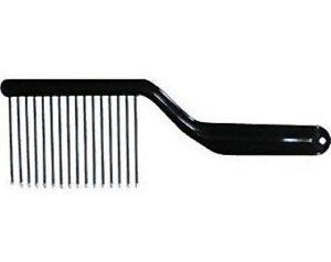1 Piece Hair K-Cutter Styling Comb Pik Metal Tooth afro braid or Metal Fan Pik