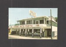 BUSINESS CARD:  PUERTO RICO - 2 CREME AUTO PARTS STORES - FORD, LINCOLN, MERCURY