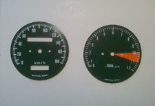 Fondi strumenti Honda CB350 Four tacho/speedo faces