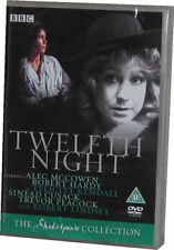 Twelfth Night BBC Shakespeare Collection DVD New Sealed