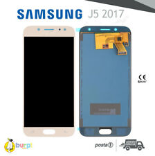 DISPLAY LCD + TOUCH SCREEN SAMSUNG GALAXY J5 2017 OLED = ORIGINALE J530 ORO GOLD