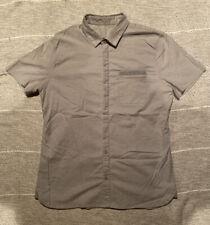 lululemon Men's Button Down, Summer Linen, Men's Large