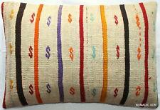 (40*60cm, 16*24cm) Textured handmade pillow cover simple motifs on cream