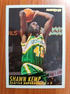 Carte Fleer Collection Basketball 🏀 1994 1995 Supersonics #217 Shawn Kemp