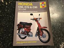 HONDA C50 C70 C90 HAYNES OWNERS WORKSHOP MANUAL Z-2 Z-Z Z-A E C M- -T 1967-2003