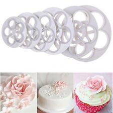 Rose Flower Fondant Cake Sugarcraft Cookie Mold Gum Paste Cutter Decorating Tool