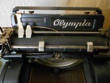 """Antike Schreibmaschine OLYMPIA """"8"""",funktionsfähig, altersgemäße Gebrauchsspuren"""