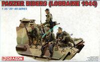 Dragon 6156 1/35 WWII German Panzer Riders (Lorraine 1944) (4 Figures) 2019