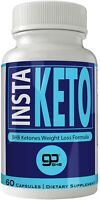 Instaketo Boost Pills Pure Insta Keto Capsules Instaketones BHB Ketogenic Wei...