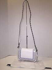Marc By Marc Jacobs Leather Shoulder / Cross Body Bag Star White ~ NWT