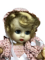 "Rare 8"" 1957 Lori-Ann Muffie Face Rothschild Doll Co. Original Case Stand, Tag"