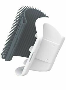 Soft Cat Self Groomer 3.0 - Includes Catnip & Adhesive - Easy Clean