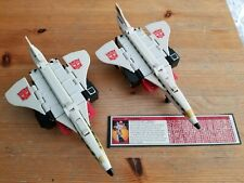 Silverbolt Transformers g1 lot vintage Played with condition, both look unbroken