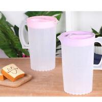2000 ml Kaltwasserkocher Bierkrug Saftkrug Teekanne Hitzebeständige Wasserkrug