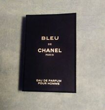 Bleu De Chanel Eau De Parfum EDP 1x sample spray 0.05oz/1.5ml travel size