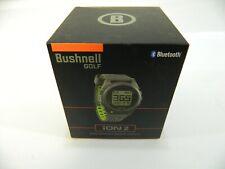New Bushnell Golf Neo iON 2 - Grey / Green - GPS Rangefinder Watch Golf