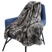 Fausse fourrure douce couverture canapé lit canapé automne hiver printemps salle
