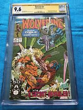 Wolverine #41 - Marvel - CGC SS 9.6 NM+ - Signed by Larry Hama