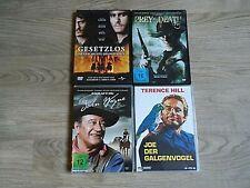 7 x WESTERN DVD Sammlung Prey for death / Gesetzlos / 4 x John Wayne / Galgenvog