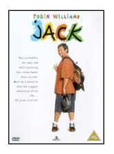 JACK (1996) Robin Williams (New & Sealed R2 DVD) Family Comedy