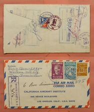 DR WHO 1972 DOMINICAN REPUBLIC MONTE CRISTI REGISTERED AIRMAIL TO USA 170358