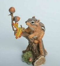 Lenox Woodland Animal Collection Autumn Adventure Eastern Chipmunk Figurine