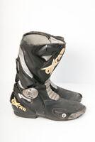 Oxtar TCS Evo RX Boots Black 7610I Leather Street Bike Motorcycle Racing Eur 44